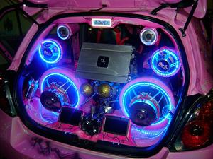 Акустическая система для автомобиля