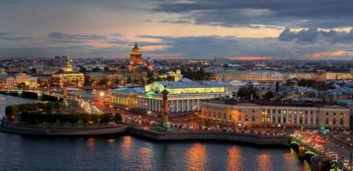 путешествие по Петербургу