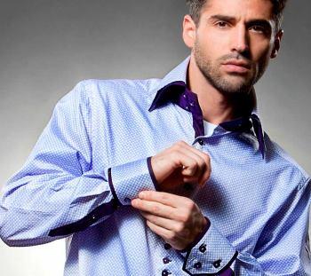 Трендовая мужская рубашка