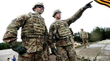 Грардейская лента на базе НАТО