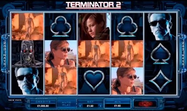Терминатор 2 игровые слоты